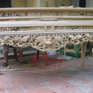 Bàn án gian mộc gỗ dổi - GV1