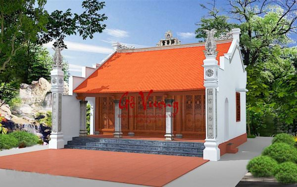 Phoi Canh Nha Go Co Truyen 06