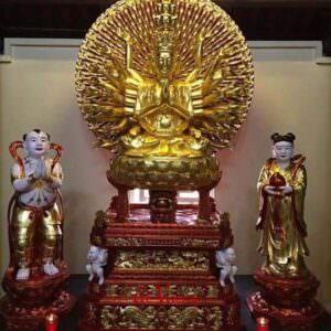 Tượng Phật Bà Thiên Thủ Thiên Nhãn - GV24