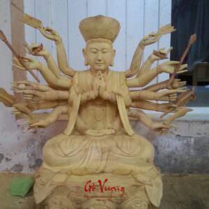 Tượng Phật Bà Thiên Thủ Thiên Nhãn - GV25