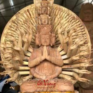 Tượng Phật Bà Thiên Thủ Thiên Nhãn - GV26