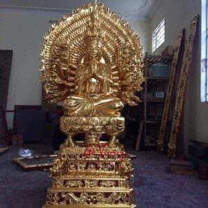 Tượng Phật Bà Thiên Thủ Thiên Nhãn - GV27