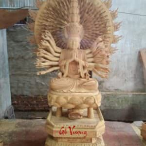 Tượng Phật Bà Thiên Thủ Thiên Nhãn - GV29
