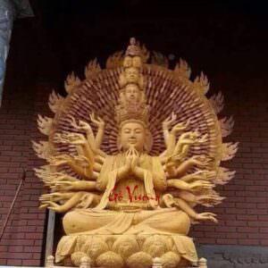 Tượng Phật Bà Thiên Thủ Thiên Nhãn - GV28
