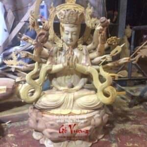 Tượng Phật Bà Thiên Thủ Thiên Nhãn - GV36