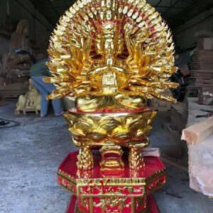 Tượng Phật Bà Thiên Thủ Thiên Nhãn - GV42
