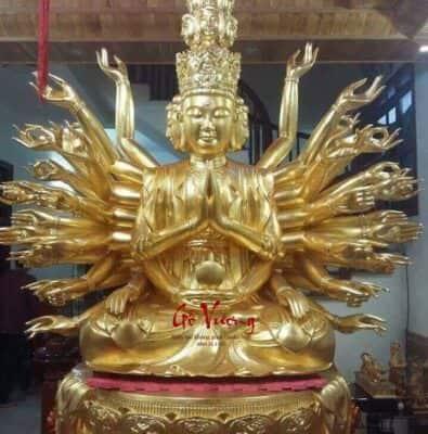 Tượng Phật Bà Thiên Thủ Thiên Nhãn - GV45