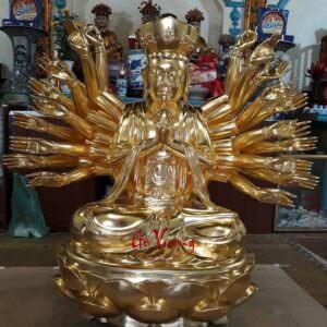 Tượng Phật Bà Thiên Thủ Thiên Nhãn - GV3