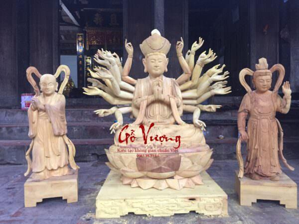 Tượng Phật Bà Thiên Thủ Thiên Nhãn - GV13