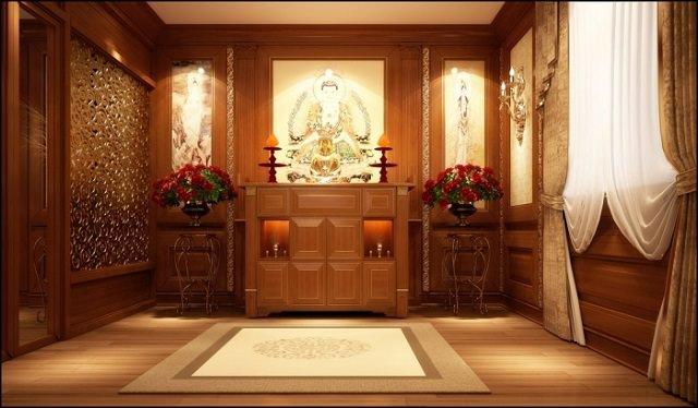 Bố trí phòng thờ, bàn thờ cần lưu ý những gì?