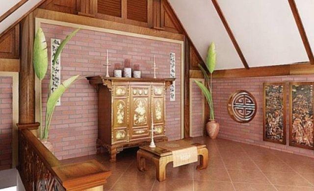 Cách thờ cúng tổ tiên, thần linh trong nhà