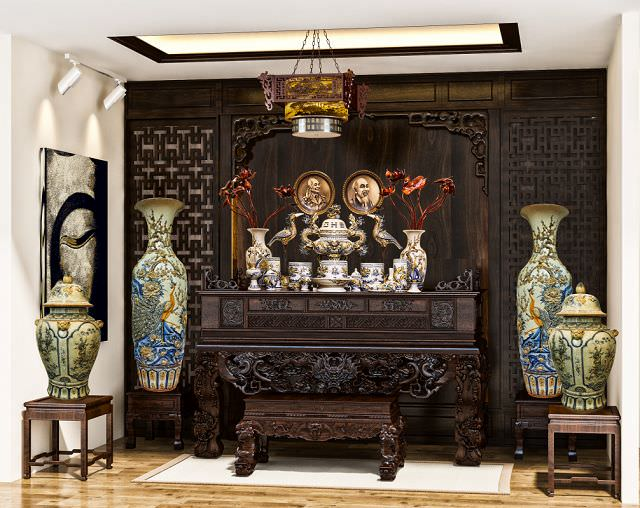 Bàn thờ cửu huyền thất tổ có ý nghĩa quan trọng trong mỗi gia đình người Việt