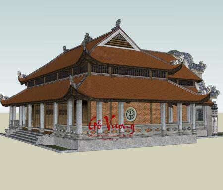 Phoi Canh Thiet Ke Dinh Chua 34