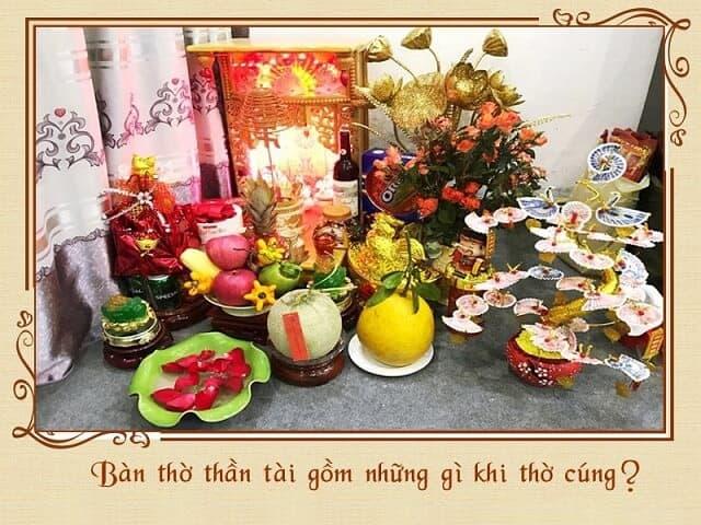 Ban Tho Than Tai Gom Nhung Gi