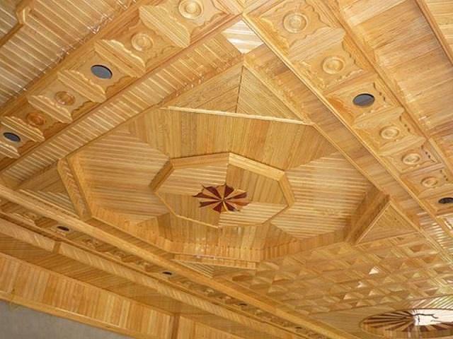 Chọn màu sắc gỗ lắp trần nhà theo mệnh của gia chủ