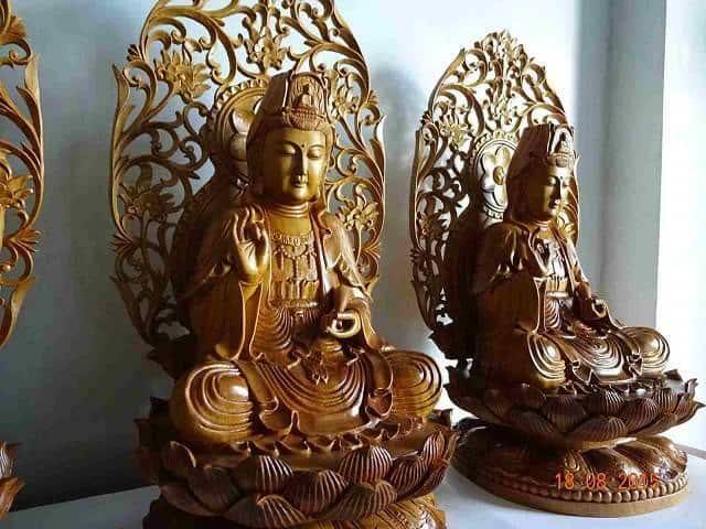 Chu Y Vi Tri Dat Phat Ba Quan Am Trong Nha Hop Phong Thuy