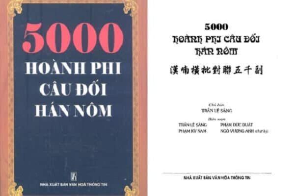Cuốn 5000 hoành phi câu đối chữ Hán Nôm