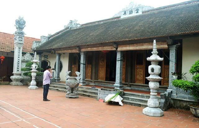 Hậu đường ngôi chùa