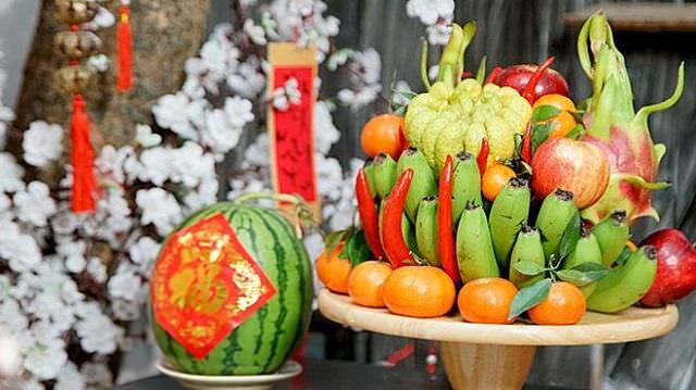 mam bong la gi? Mâm bồng dùng để bày biện hoa quả trên bàn thờ