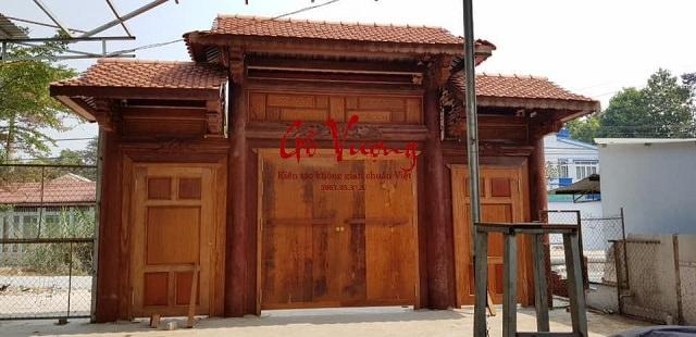 Mẫu cổng nhà thờ họ được nhiều người ưa chuộng hiện nay