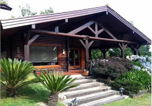 Mẫu nhà gỗ 1 gian đơn giản đẹp tinh tế