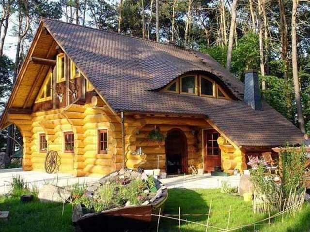 Thiết kế nhà gỗ theo phong cách truyền thống Bắc Âu
