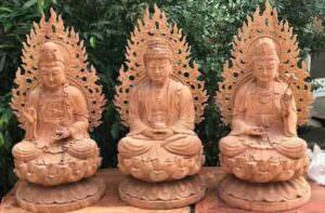 Tuong Phat Phuong Tam Thanh Ngoi Dai Sen Mang Den May Man