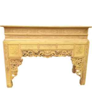 Gỗ mít là một trong những loại gỗ thường được sử dụng để làm bàn án gian