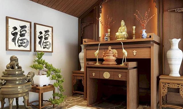 Một số những thông tin về mẫu bàn thờ Phật
