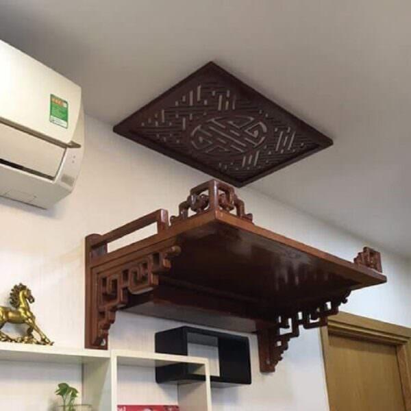 Những lý do nên sử dụng bàn thờ treo tường
