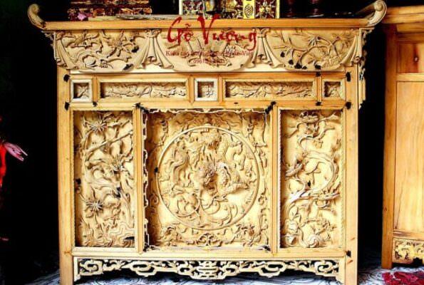 Nên mua bàn thờ chấp tải ở Gỗ Vượng