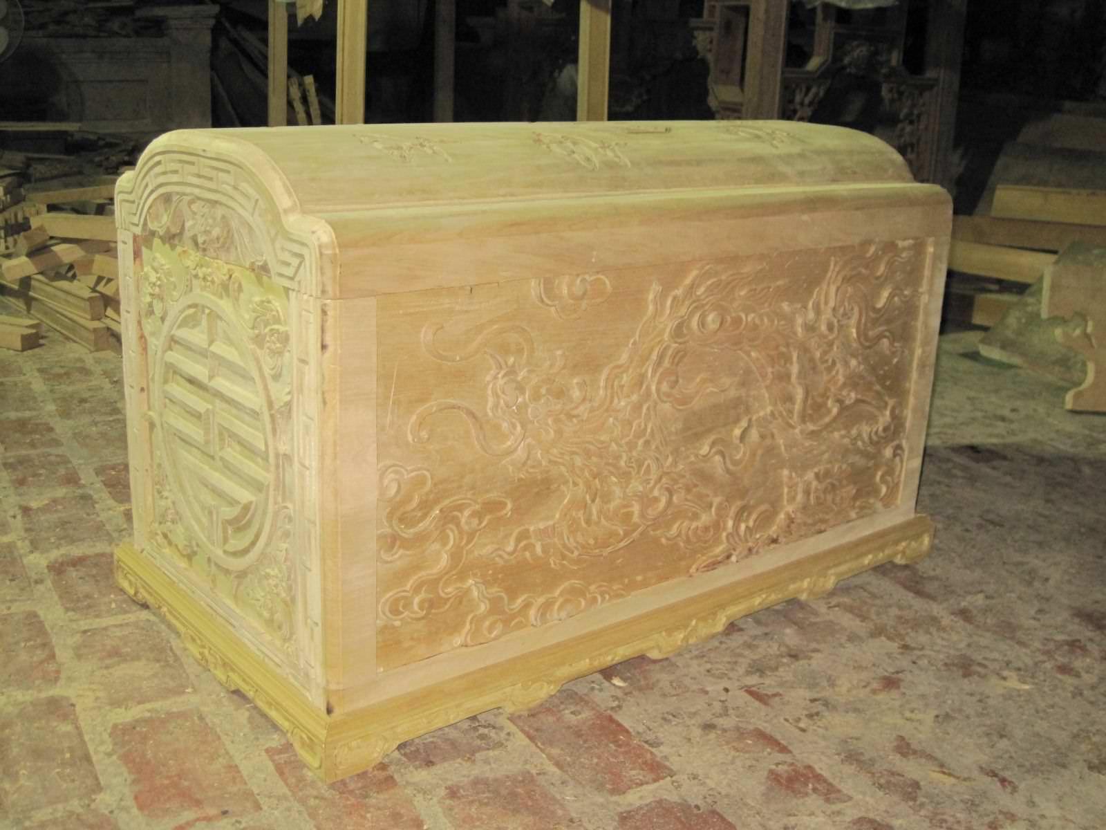 gỗ làm quách đều được Gỗ Vượng lựa chọn rất kỹ từ chất lượng đến màu sắc