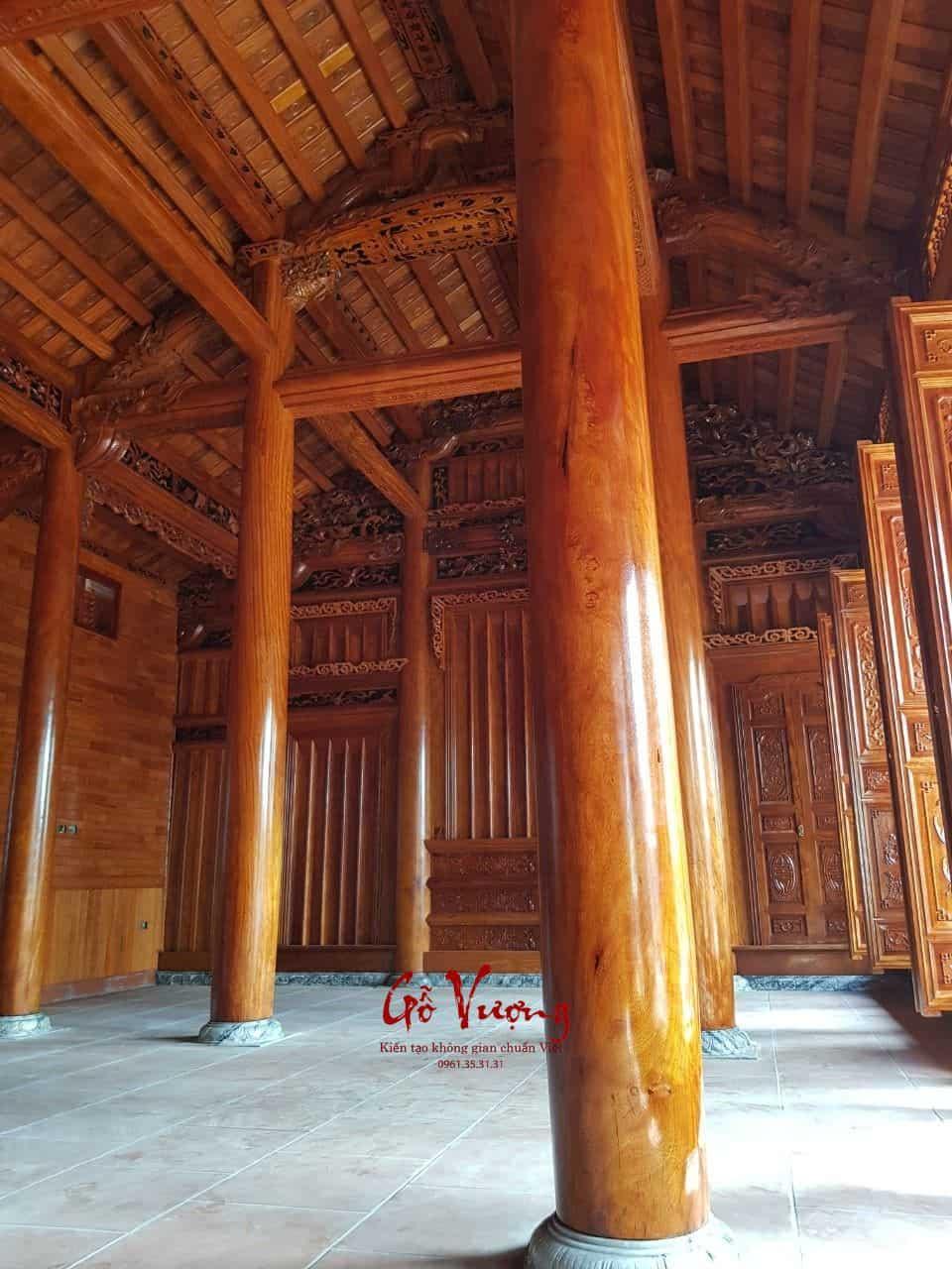 Sử dụng gỗ xoan làm nhà với giá cả phải chăng nhưng chất lượng rất tốt